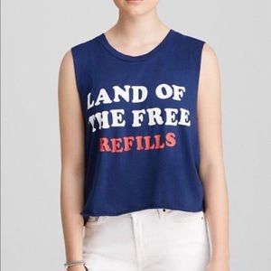 Wildfox land of the free refill tank